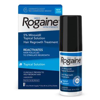 Minoxidil Rogaine 5% Para Homens Líquido - 1 frasco