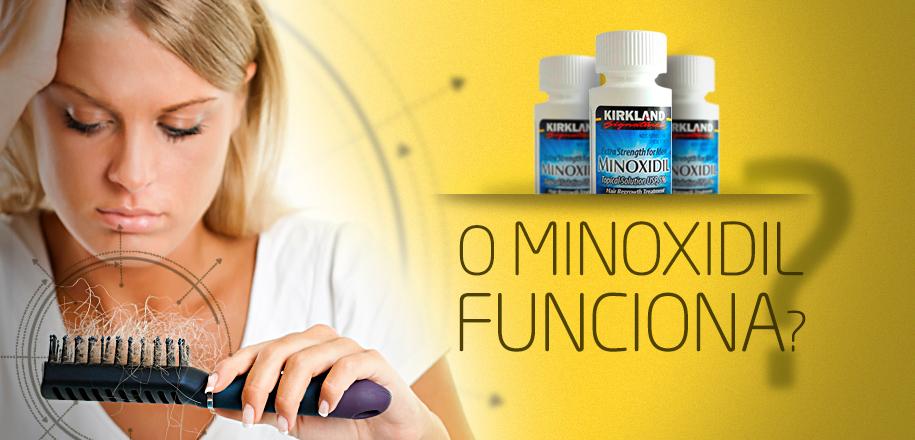 Será que o Minoxidil Funciona para Queda de Cabelo?
