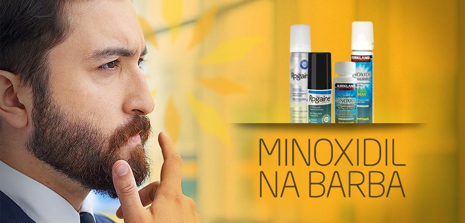 Comece a Usar Minoxidil na Barba para Crescer os Pelos