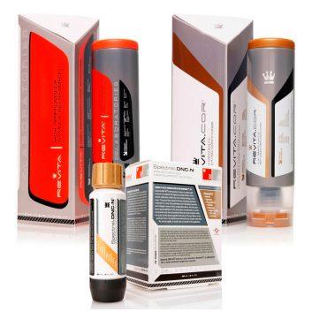 Kit Antiqueda com Shampoo Revita + Condicionador Revita Cor + Loção Spectral DNC-N