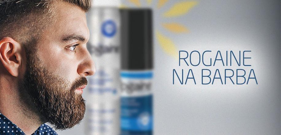 Usar o Rogaine na Barba Ajuda no Crescimento dos Pelos
