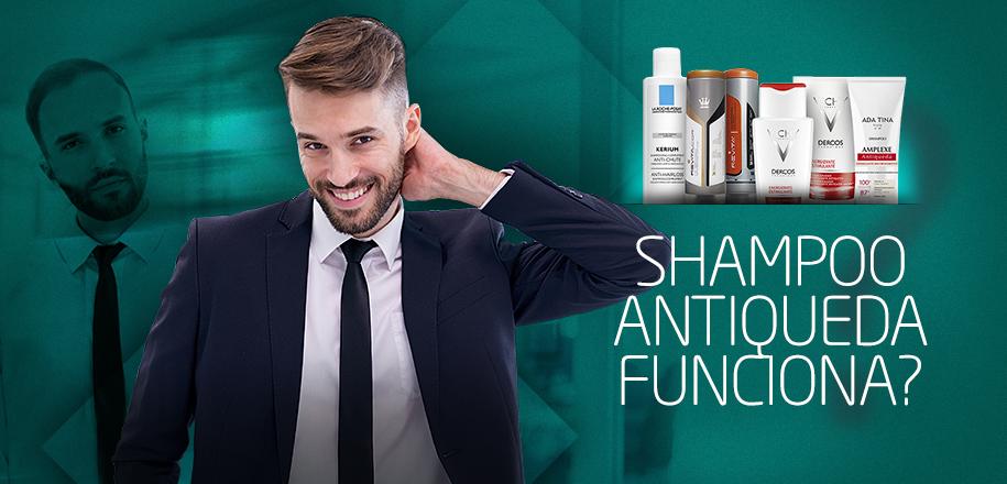 Shampoo Antiqueda Funciona para Homens e Mulheres?