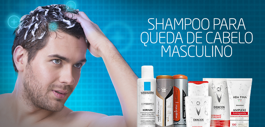 Shampoo para Queda de Cabelo Masculino Funciona?