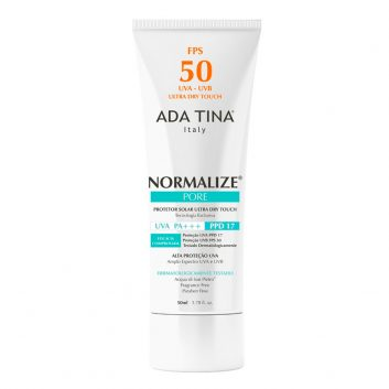 Normalize Pore FPS 50 Protetor Solar 50 ml - Ada Tina
