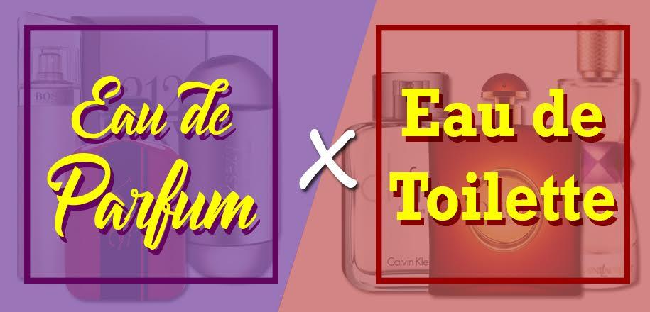 Diferença entre Eau de Parfum e Eau de Toilette nos perfumes