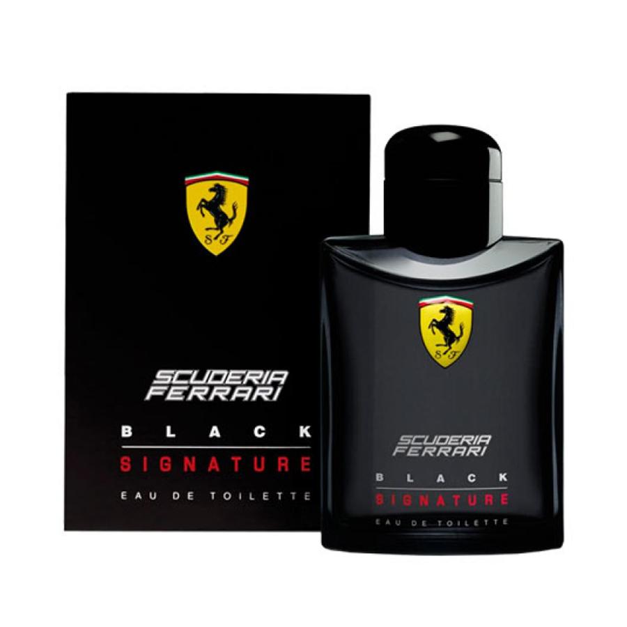 Perfume Scuderia Ferrari Black Signature