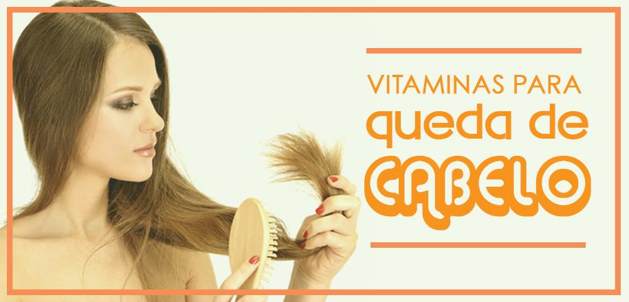 Vitaminas para queda de cabelo evitam a queda