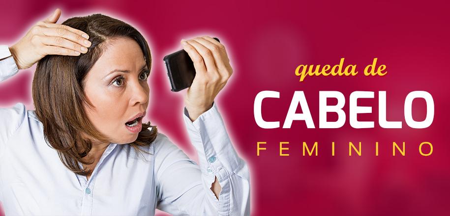 Conheça tudo sobre a queda de cabelo feminino