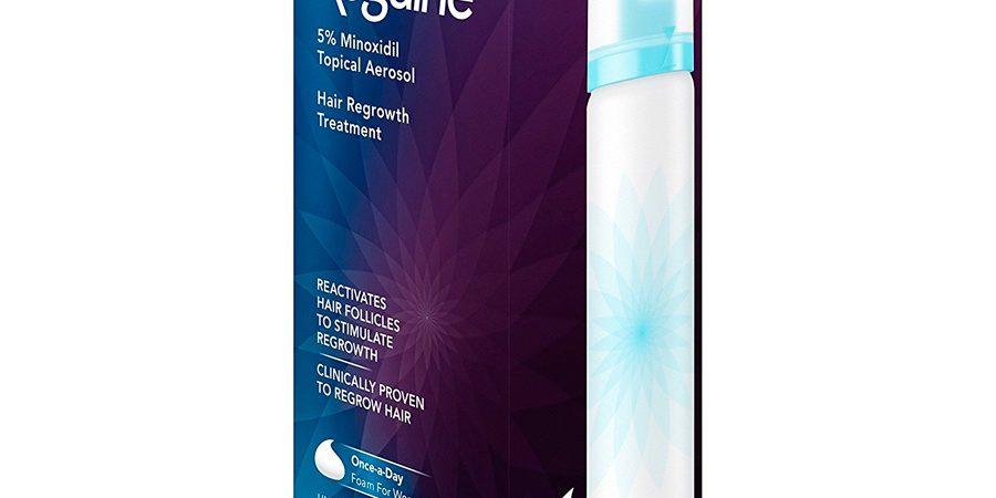 Minoxidil Rogaine Women's Foam 5% Feminino – 1 frasco
