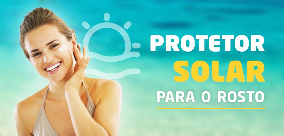 Protetor solar para o rosto hidrata e previne envelhecimento
