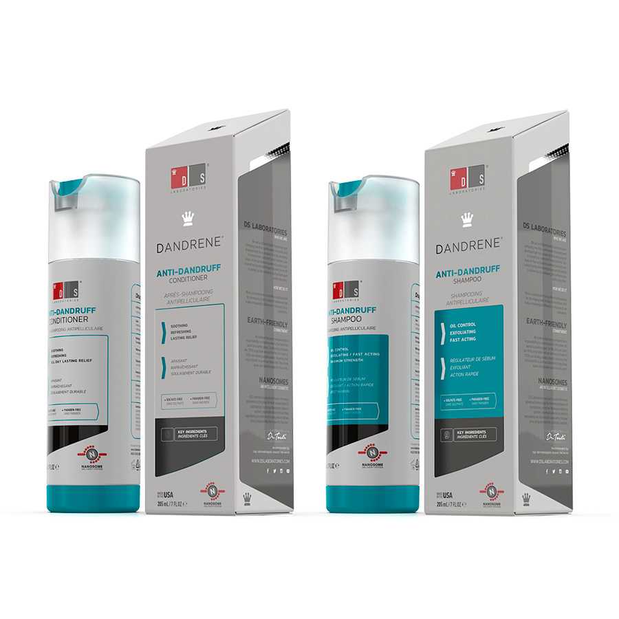 Kit Dandrene Shampoo e Dandrene Condicionador DS Laboratories