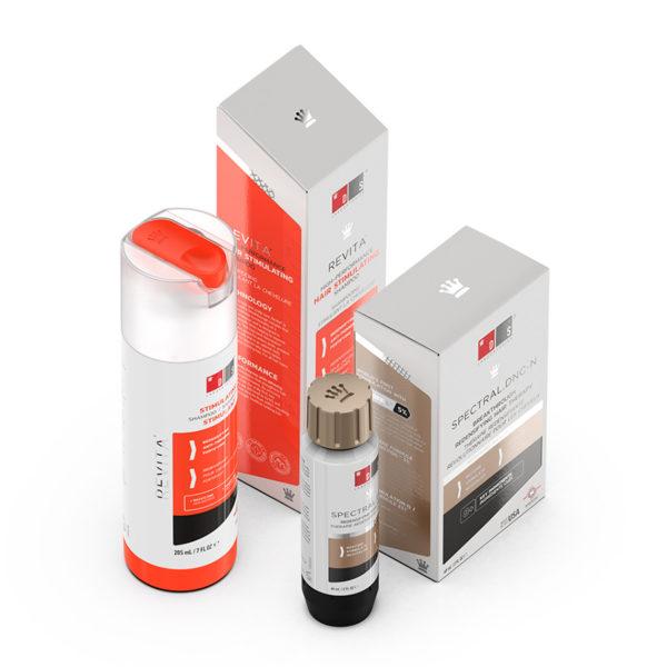 Kit Revita Shampoo e Spectral DNC-N DS Laboratories