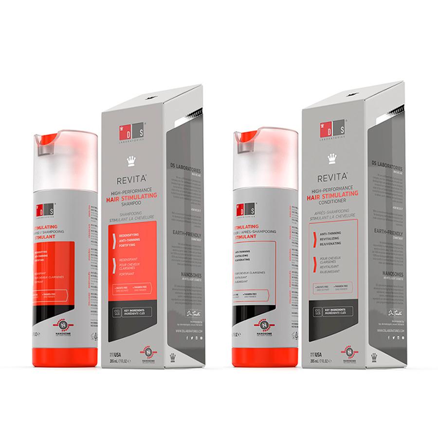Kit Revita Shampoo e Revita Condicionador DS Laboratories