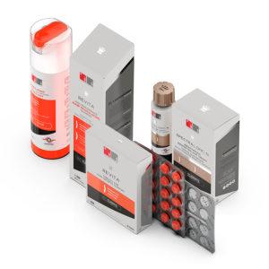 Revita Shampoo, Revita Tablets e Spectral DNC-N